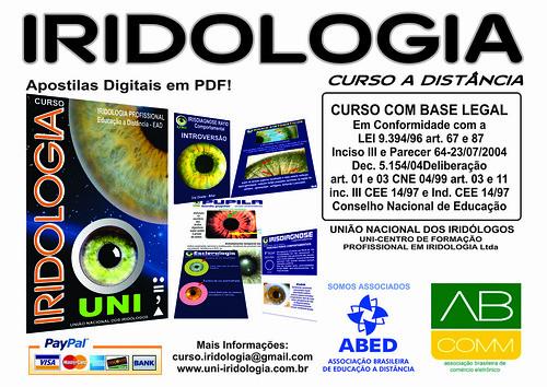 Blog de cursoiridologia : IRIDOLOGIA - CURSO DE IRIDOLOGIA A DIST�NCIA, 7� Edi��o do Curso de Iridologia