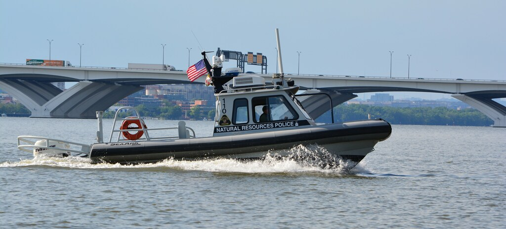 NRP boat patrolling the waters