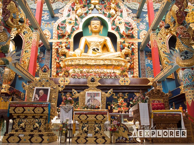 Namdroling Monastery of Bylakuppe
