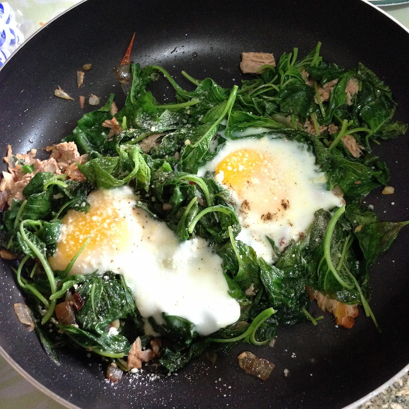 Quick and Easy Eggs Florentine