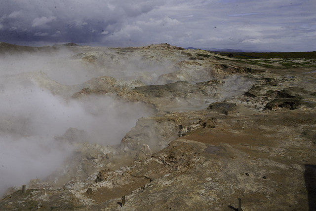 Press Bus Tour: Gunnuhver Geothermal Pools