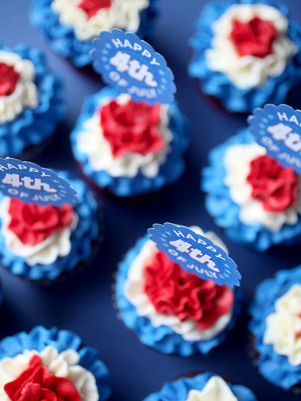 Ruffled Cupcakes
