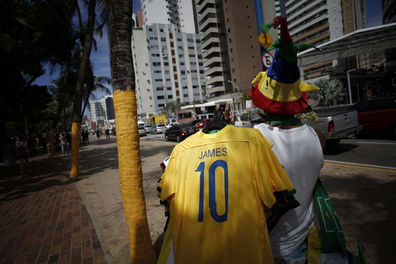 (12)BRASIL-FORTALEZA-COLOMBIA-MUNDIAL 2014-AFICIONADOS