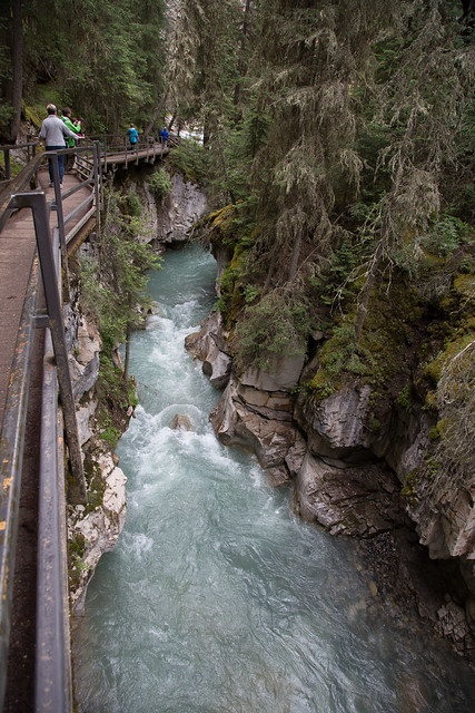 Johnston Canyon Banff NationalPark