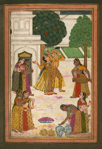 004-Album of Indian Miniatures and Persian Calligraphy- The Art Walters Museum MS. W.669