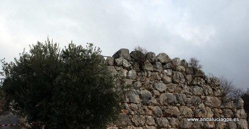 Jaén Torre del Campo - Muralla ciclópea GPS 37.760000, -3.902500