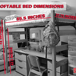 loftable bed dimensions