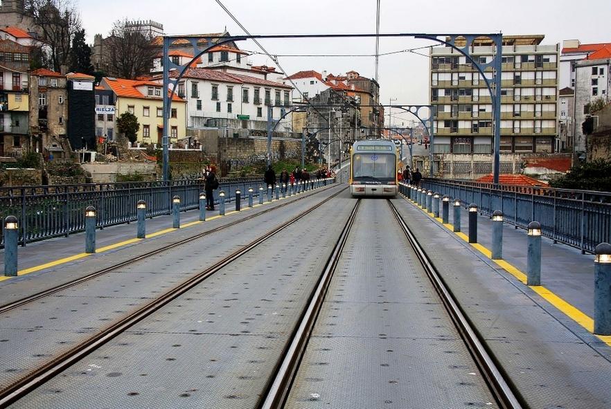 Pont Luiz - pont superieur
