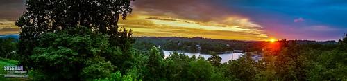 sky panorama lake nature water clouds sunrise georgia unitedstates gainesville lanier lakelanier hallcounty thesussman sonyslta77 sussmanimaging