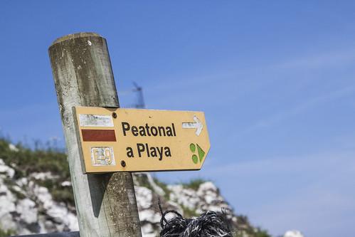 Playa de Poo, Asturias