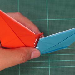 วิธีพับกระดาษเป็นถาดใส่ขนมรูปดาวแปดแฉก (Origami Eight Point Star Candy Tray) 018