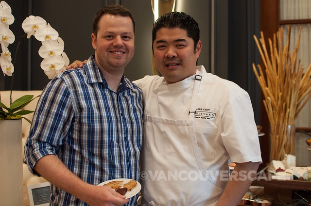 Christophe Bonzon of Chez Christophe with Alex Chen