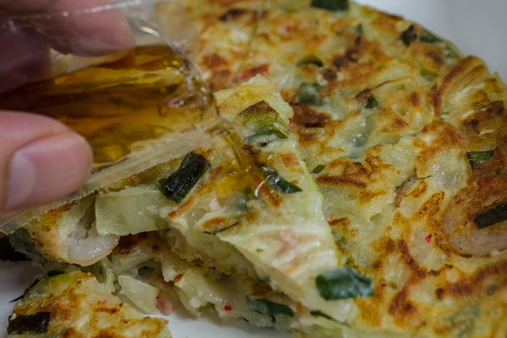 瑞豐夜市韓式煎餅