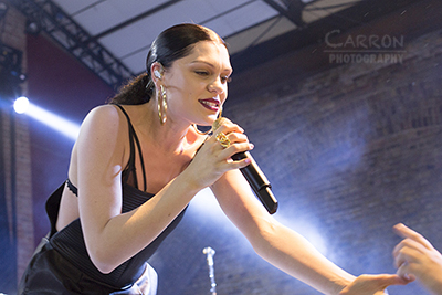 Jessie J at Girl Effect Live