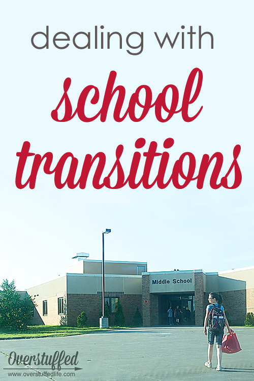dealing with school transitions