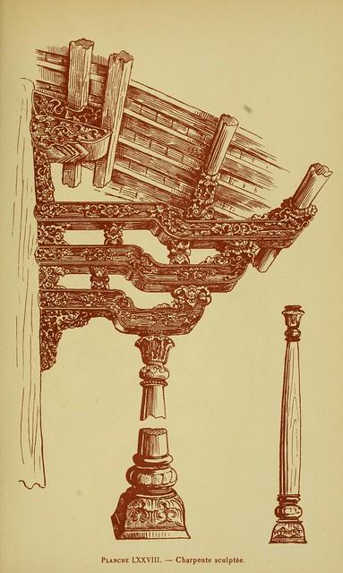 larthunouvelle00asso_0245 - Charpente sculptée - Khung sườn nhà được chạm khắc