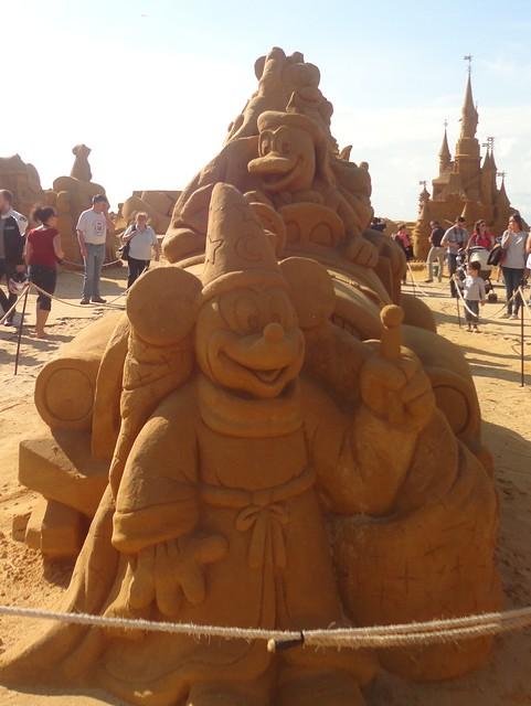 Sculpures sur sable Disney - News Touquet p.1 ! 14770215280_f75668cce4_z