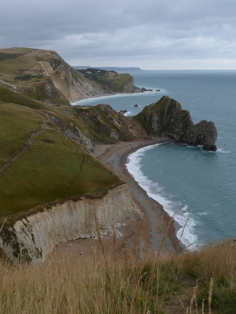 51 Looking back at Durdle Door