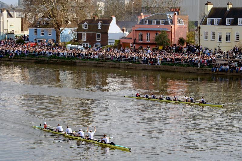 Oxford Cambridge Boat Race in London