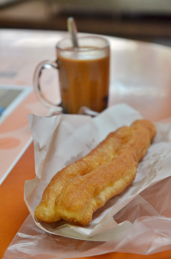 You Tiao & Milk Tea