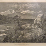 GC253 Thomas Moran; Long's Peak and Estes Park, Colorado; 1876; Engraving - From The Graham and Barbara Curtis Collection