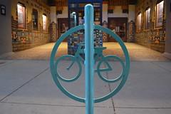 Downtown Albuquerque Bike Rack