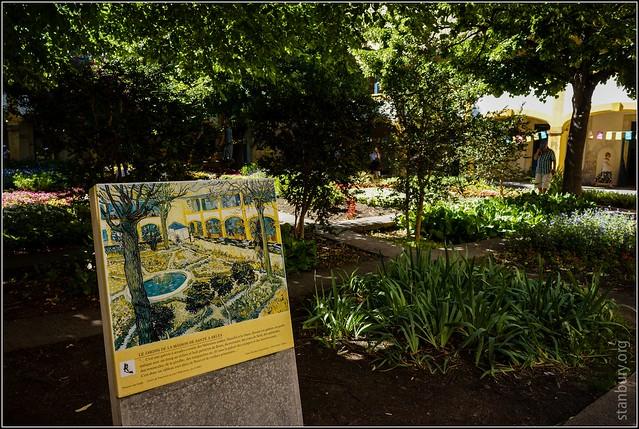 Le jardin de la maison de sant arles 1 flickr for Artland la maison
