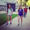 First Day of school 13th and 14th Grade. #kstate