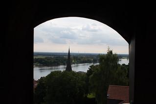 Lauenburg von oben