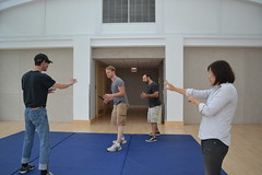 Sat, 2014-08-23 10:45 - Photos from our rehearsal process of the play about making theatre with special attention on the scenes about rehearsal. Wha!? #dontcallitplaypractice
