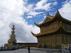 Golden Temple & Puxian, Jinding (Golden Summit), Emei Shan