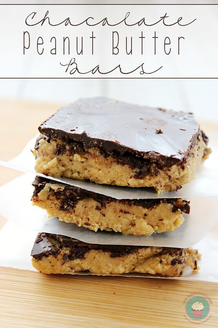 Chocolate Peanut Butter Bars are perfect in lunchboxes or for an after school snack! #DoveTastemaker #chocolate #peanutbutter #bars