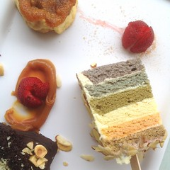 DEssert Tray: Natural Rainbow Cake   Ugly Pineappl…