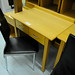 Oak small 2 drawer desk
