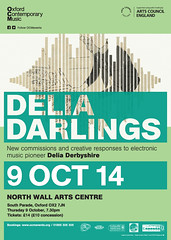 Delia Darlings - New commissions and creative responses to electronic music pioneer Delia Derbyshire