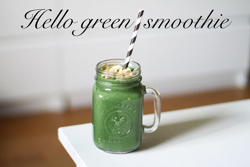 hello green smoothie!
