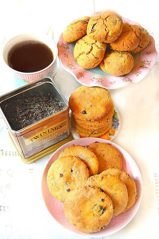 """Dolci a go go: frollini per """"il tè al tè"""" con farina di mais ..."""