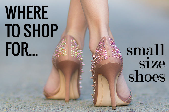 Where To Shop Size 4 Shoes and Smaller