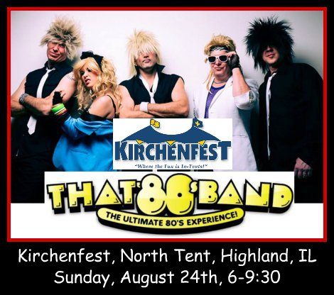 That 80s Band 8-24-14