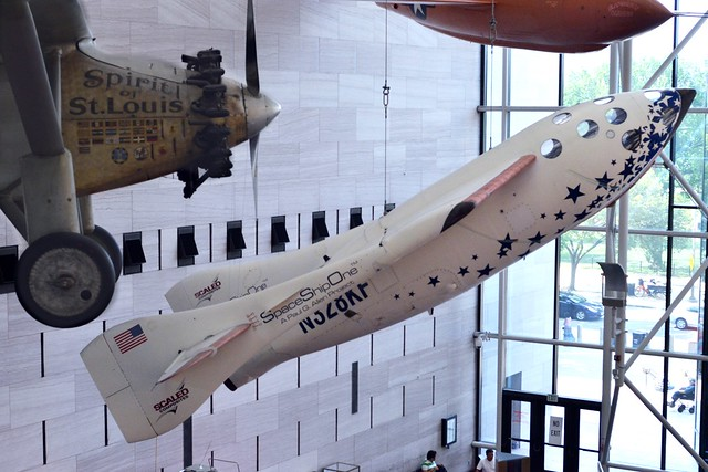 SpaceShipOne and The Spirit of Saint Louis