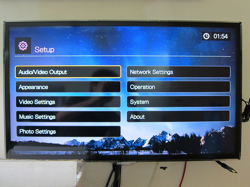 WD TV - Settings