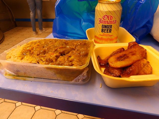 Goat curry +plantains @ Gabby's, Peckham