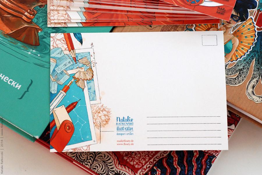 My postcards on Etsy