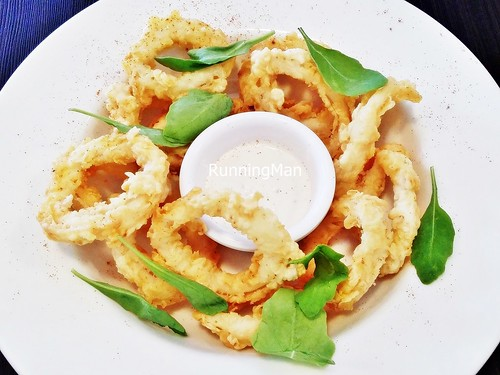 how to cook calamari rings without batter
