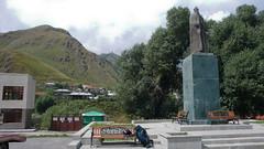 Stepancminda (Kazbegi) centrum.