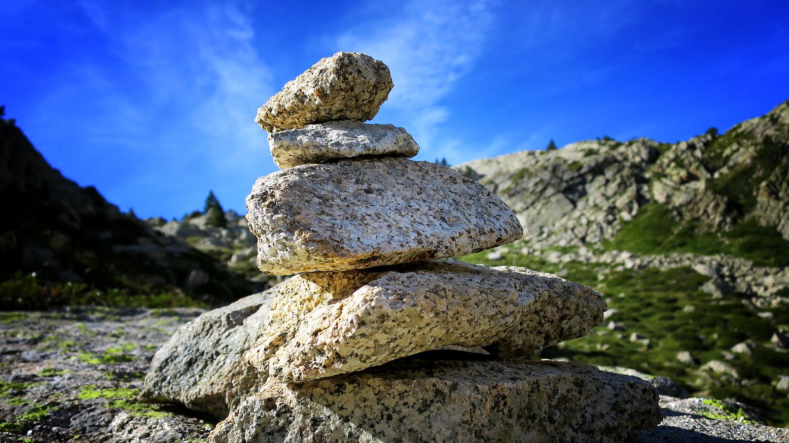 Aïguestortes: Pic de Peguera i pic de Monestero