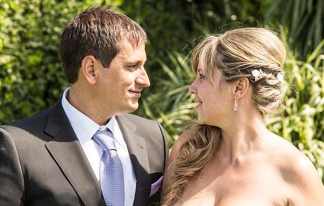 Sele y Rebeca en la boda del año