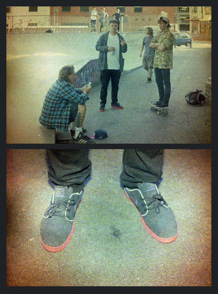 Color Implosion Film - Local Skateboarders and Nike SB Janoski's