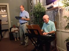 Singing after supper