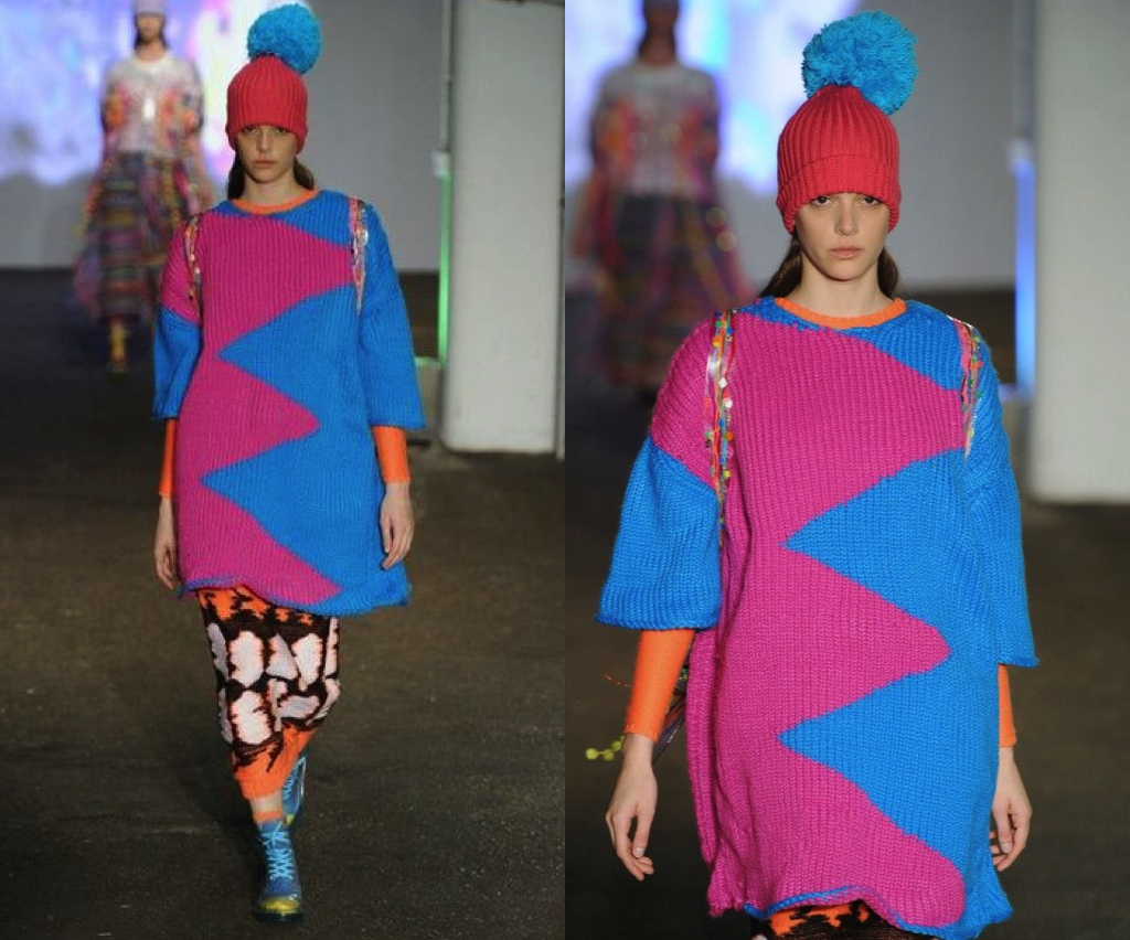 Zigzag Jumper - Graduate Collection Kirsty Anderton